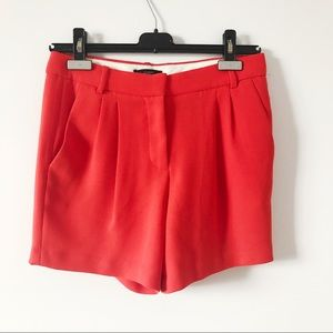 3/20$ J.crew pleated dressy shorts in red